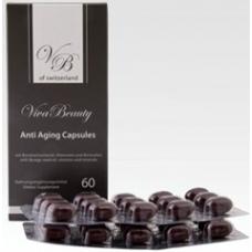 Антивозрастные капсулы Вива Бьюти / для мужчин / Anti Aging Capsules 60 капсул