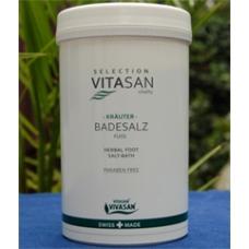 Соль для ножных ванн с травами / Badesalz Fuss 500 г