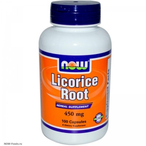 NOW Licorice Root - экстракт корня солодки - БАД