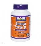 now foods omega 3 - Омега 3 жирные кислоты - БАД